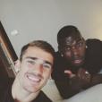 Antoine Griezmann et Paul Pogba