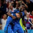 Antoine Griezmann et Paul Pogba pendant l'Euro 2016