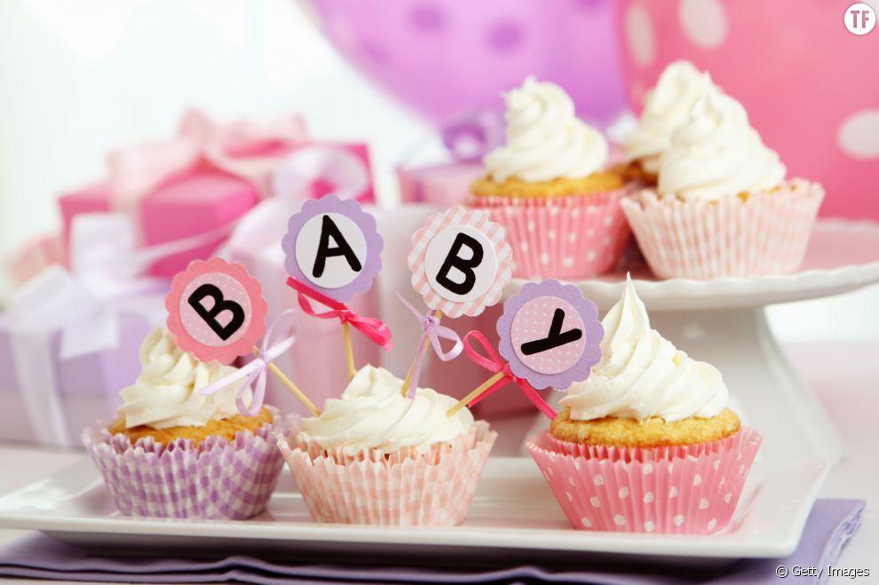 Idee deco pour baby shower faire des cupcakes pour baby - Idee pour baby shower ...