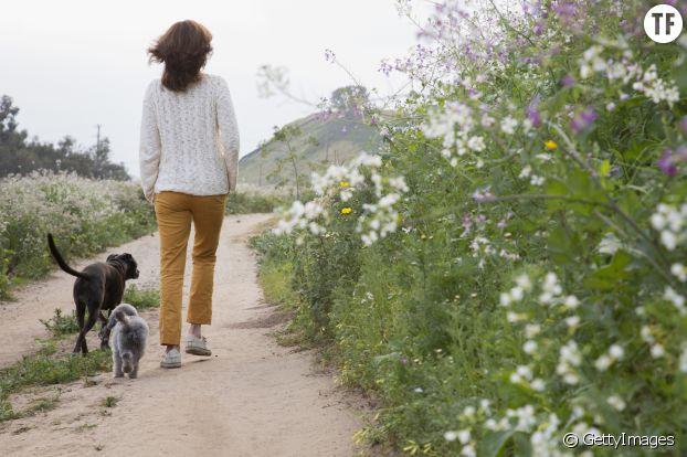 La marche rapide nous pousse hors de notre zone de confort