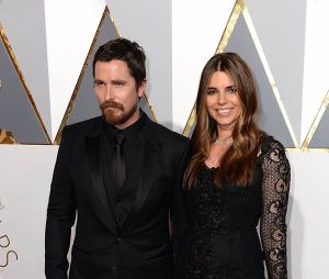 Christian Bale et sa femme Sandra Blazic