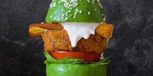 Le burger d'avocat, la tendance healthy qui donne envie