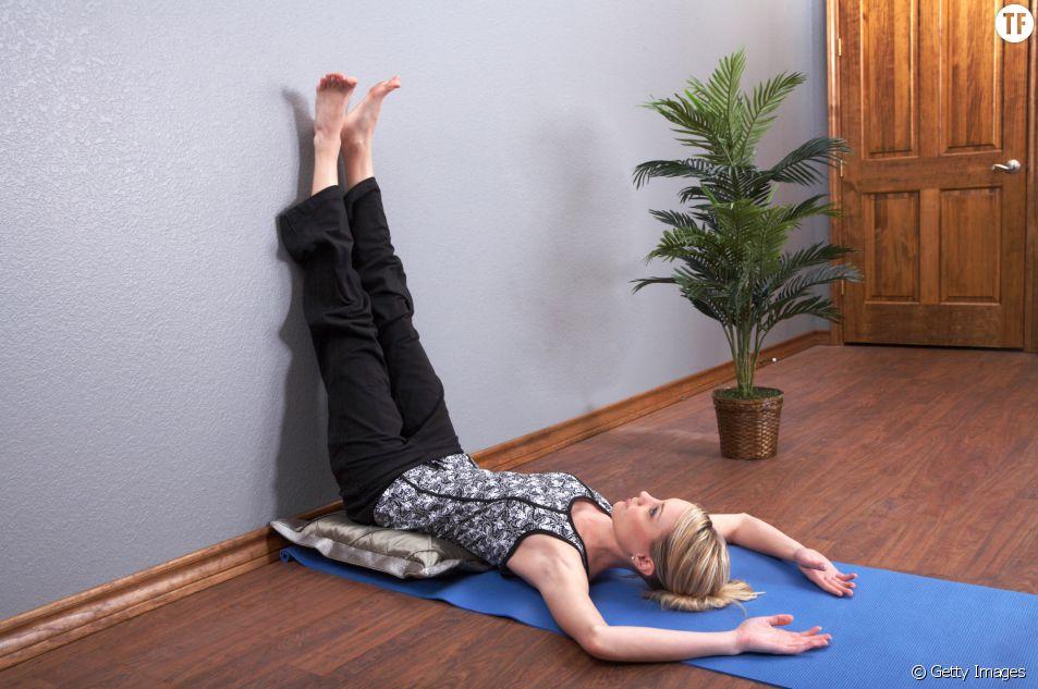 La posture de yoga qui fait dormir