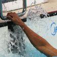 La nageur français Florent Manaudou