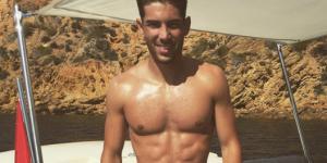 Luca Zidane : la plastique parfaite du fils de Zinedine agite le web (photos)