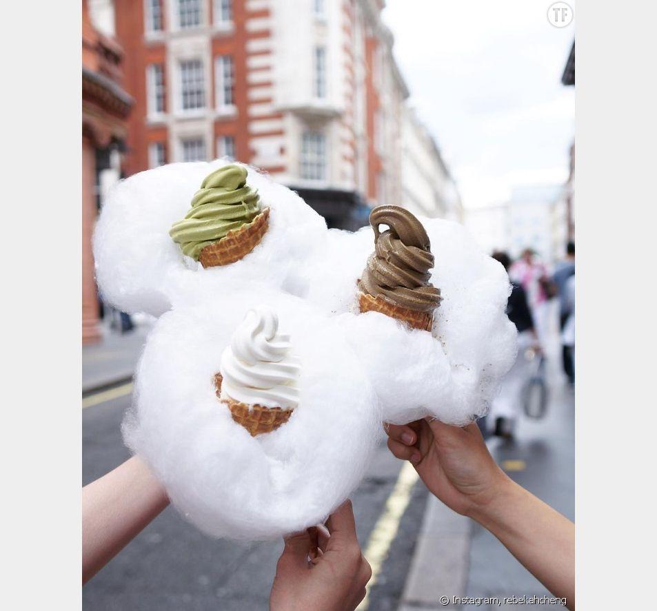 Glace barbe à papa : la nouvelle sensation culinaire d'Instagram