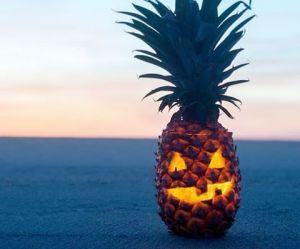 Halloween 2016 : on remplace les citrouilles par des ananas