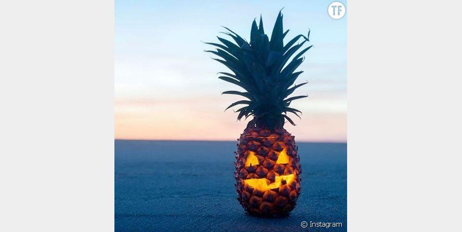 Les lanternes ananas : la tendance d'Halloween 2016
