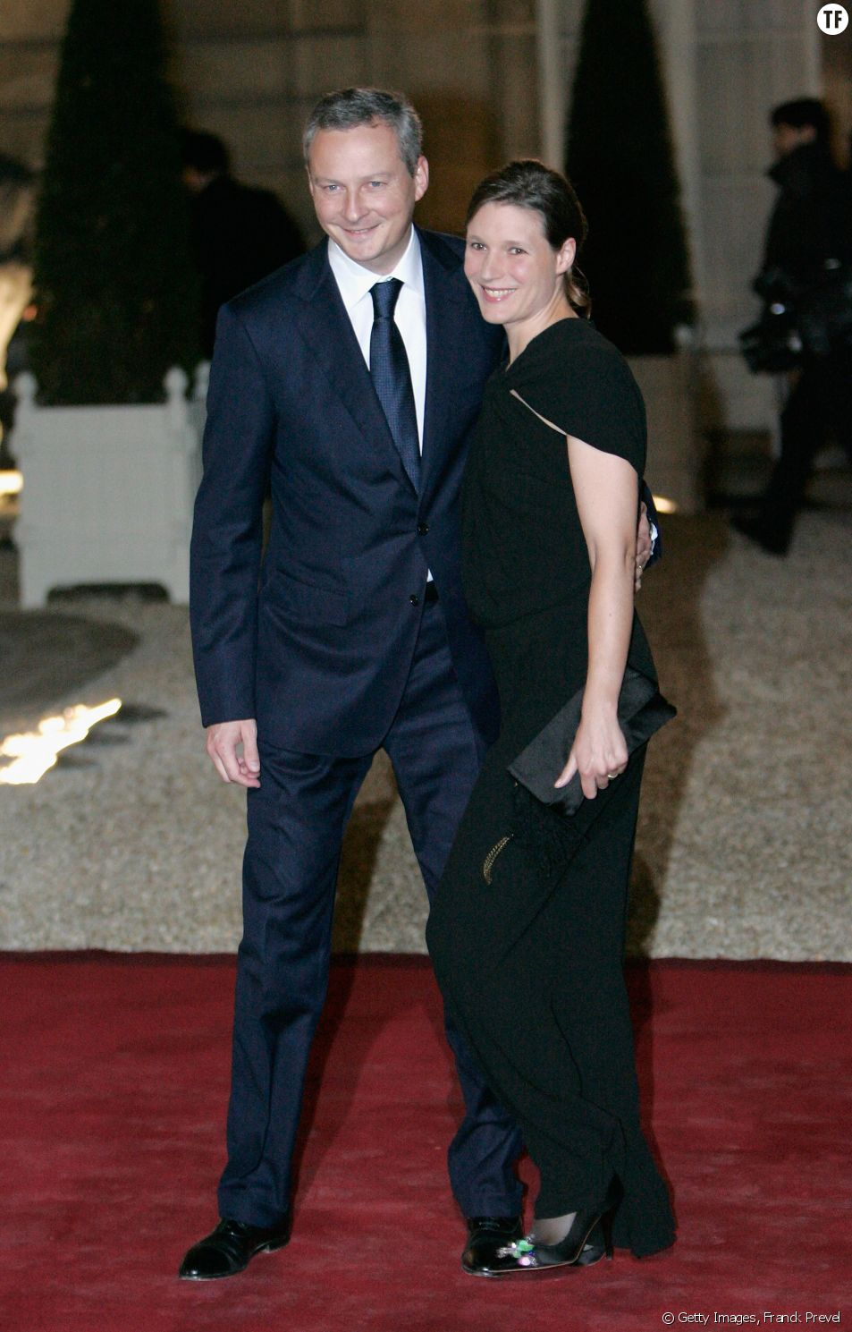 Bruno Le Maire et sa femme Pauline en 2010