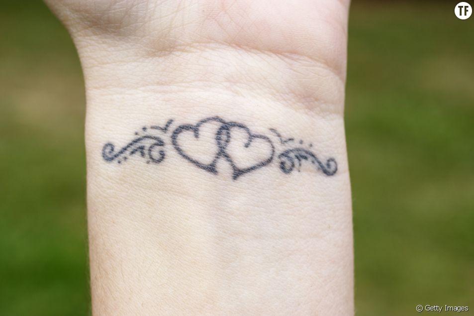 Idées de petits tatouages coeur