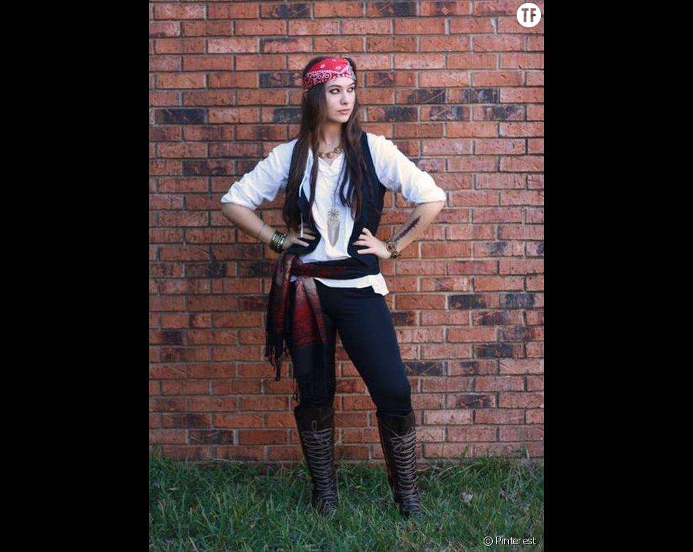 Halloween 2016 : idée de costume femme pirate