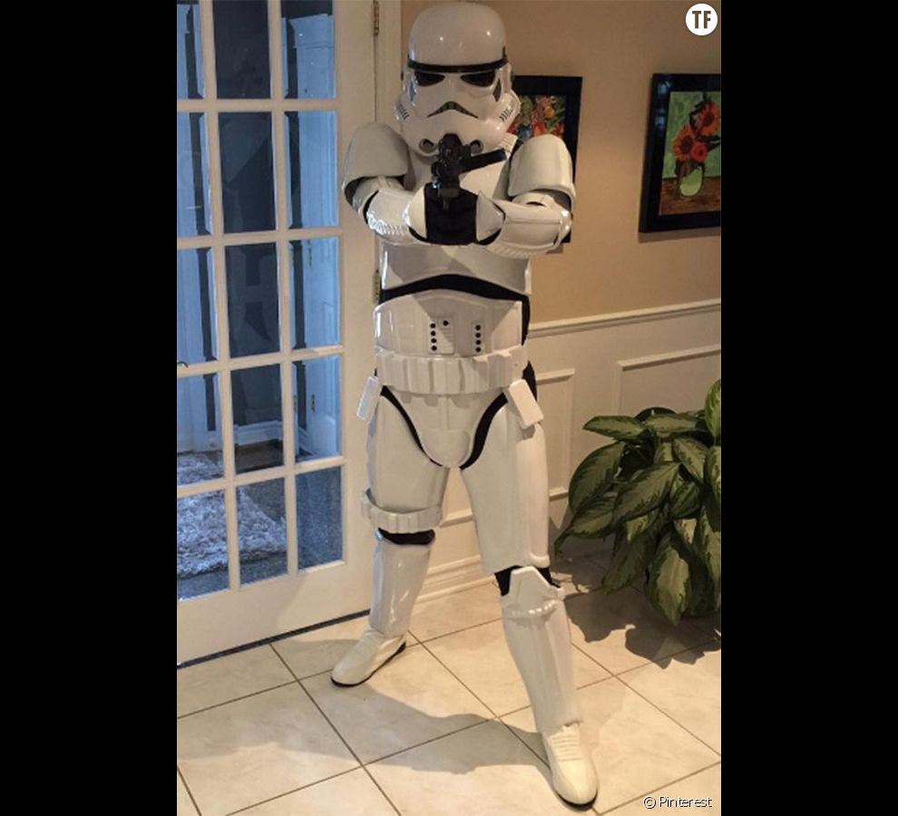 Halloween 2016 : costume Stormtrooper (Star Wars)