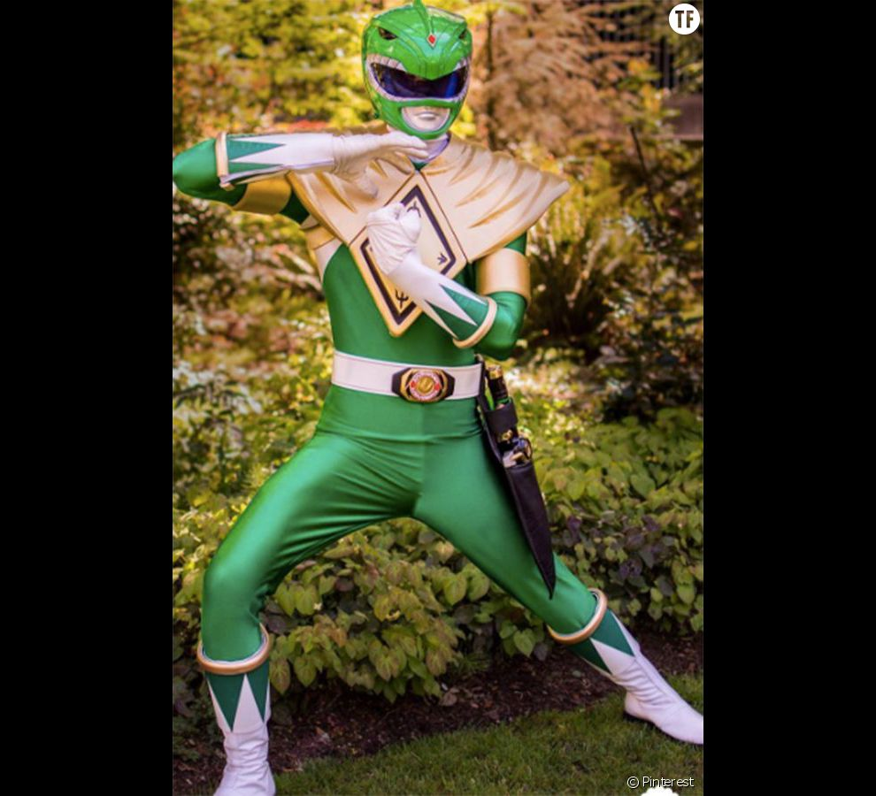 Halloween 2016 : costume de Power Ranger