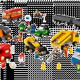 Les Lego Education 9333, qui apprennent aux enfants qu'un garçon doit toujours être fort alors qu'une fille a tout le temps peur