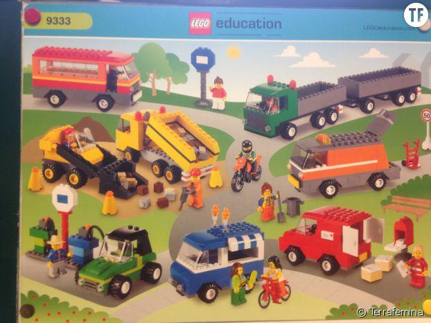 L'emballage des Lego Education 9333, envoyé par Christian