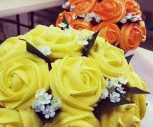 Les bouquets cupcakes, la délicieuse idée déco mariage