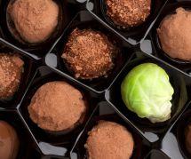 La pire blague d'Halloween : le chou de Bruxelles au chocolat