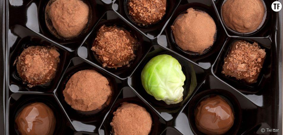 Les choux de Bruxelles au chocolat