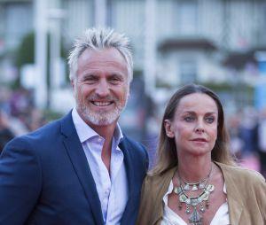 David Ginola et sa femme Coraline