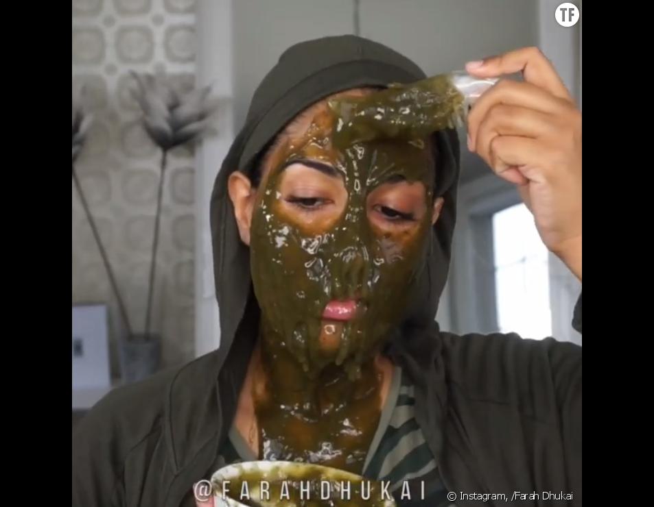 La recette du masque au thé matcha de Farah Dhukai