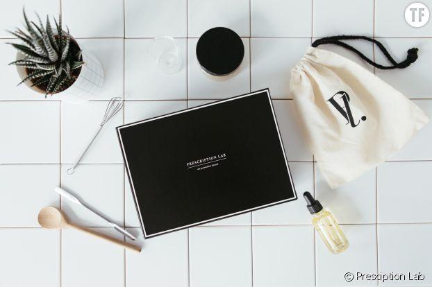 la box beaut haut de gamme prescription lab est enfin disponible terrafemina. Black Bedroom Furniture Sets. Home Design Ideas