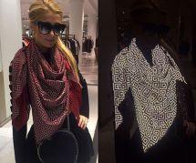 Le foulard anti-paparazzi, le nouvel allié des stars