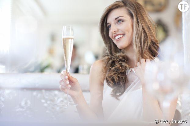 Le champagne bon pour la peau