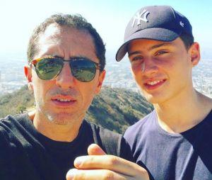 Gad Elmaleh complice avec son fils Noé Emaleh