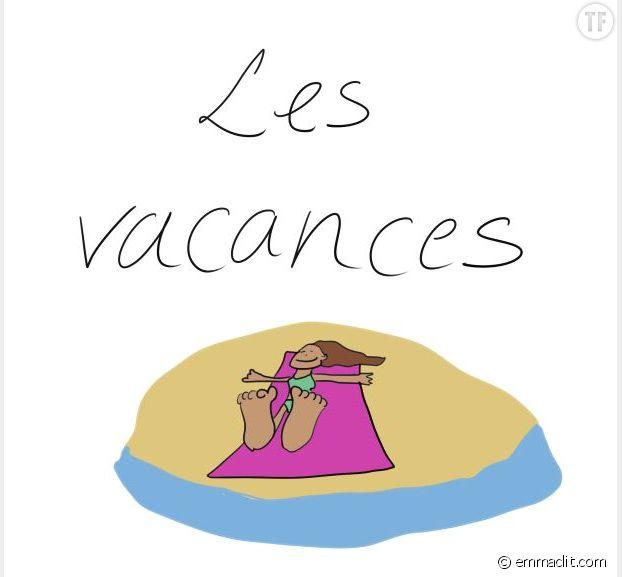 La maternité, des vacances ? L'illustratrice Emma rétablit la vérité.