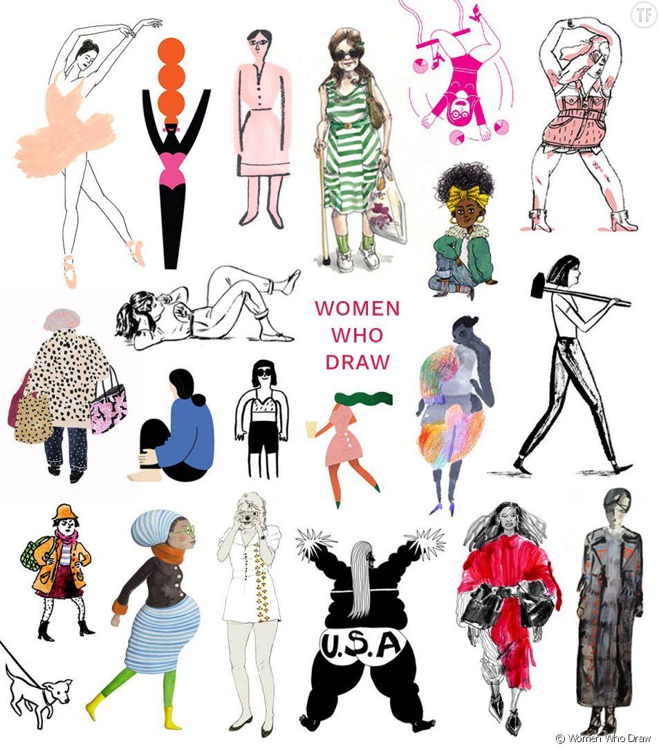 """""""Women Who Draw"""" : le site qui met en lumière les illustratrices"""