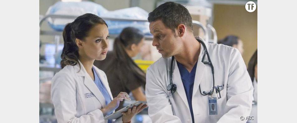 """Jo et Alex dans la saison 13 de """"Grey's Anatomy"""""""
