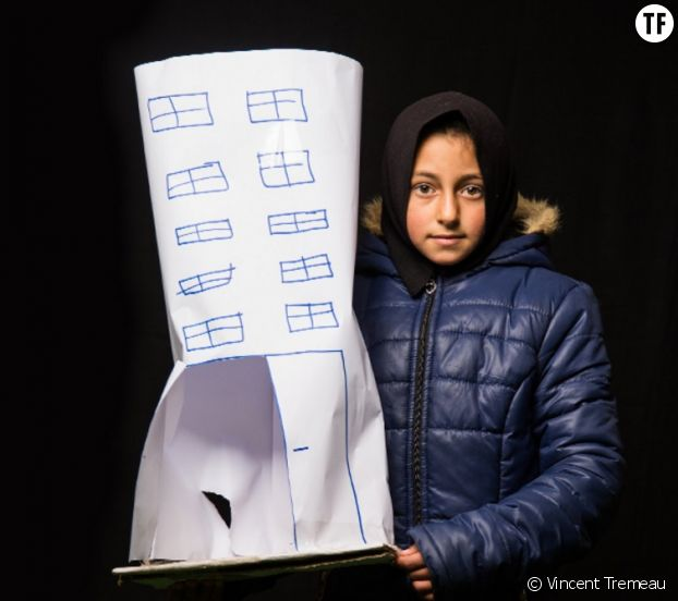Campagne #IDONT de l'UNFPA : Heba, 11 ans, rêve de devenir architecte