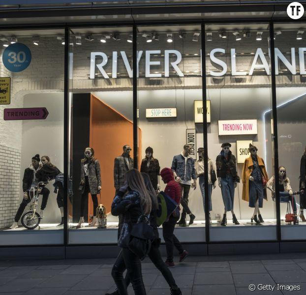 Une boutique River Island à Londres 2018
