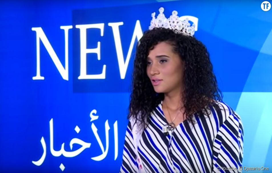 Khadidja Benhamou Miss Algérie 2019