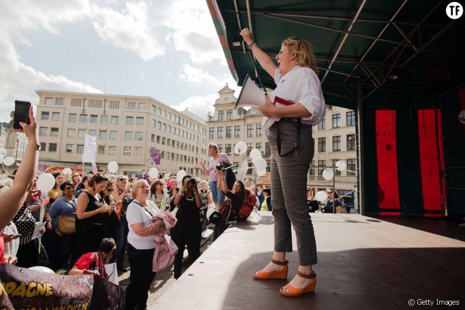 Manifestations féministes à Bruxelles le 8 juin 2017