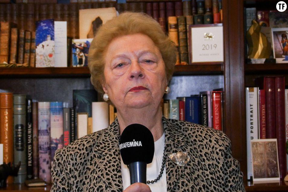 La présidente de SOS Africaines en danger Danielle Mérian