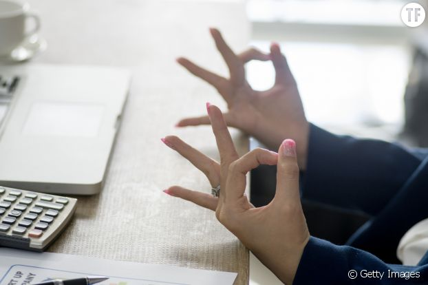 Yoga au bureau
