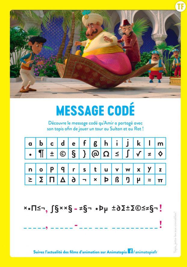 Message codé Amir et Mina