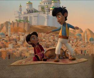 """Le cahier de jeux """"Amir et Mina"""" pour s'amuser avec les enfants"""