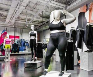 Nike installe des mannequins grande taille dans ses magasins (et on applaudit)
