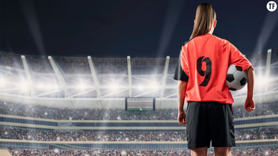Footballeuse (Image Adobe)