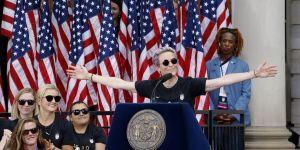 """""""Je ne pourrais pas être plus fière"""" : le discours ultra-inspirant de Megan Rapinoe"""