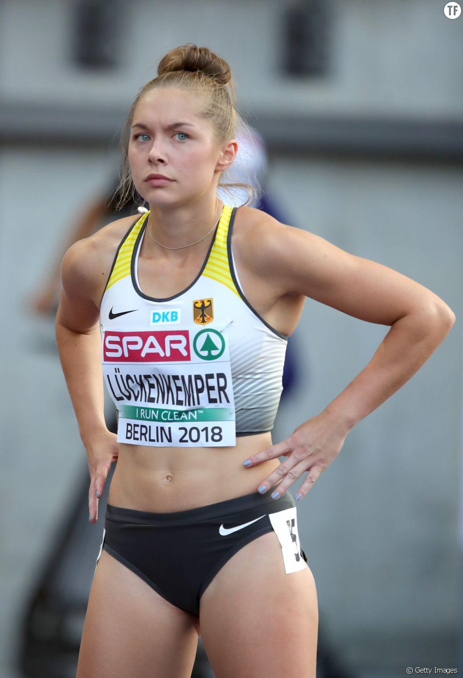 La sprinteuse allemande Gina Lückenkemper.