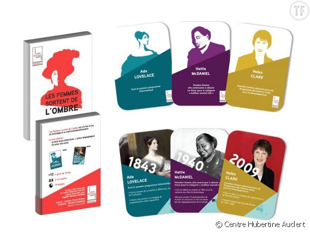Les jeux de société féministes du Centre Hubertine Auclert.
