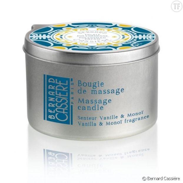 Bougie de massage Vanille & Monoï de Bernard Cassière