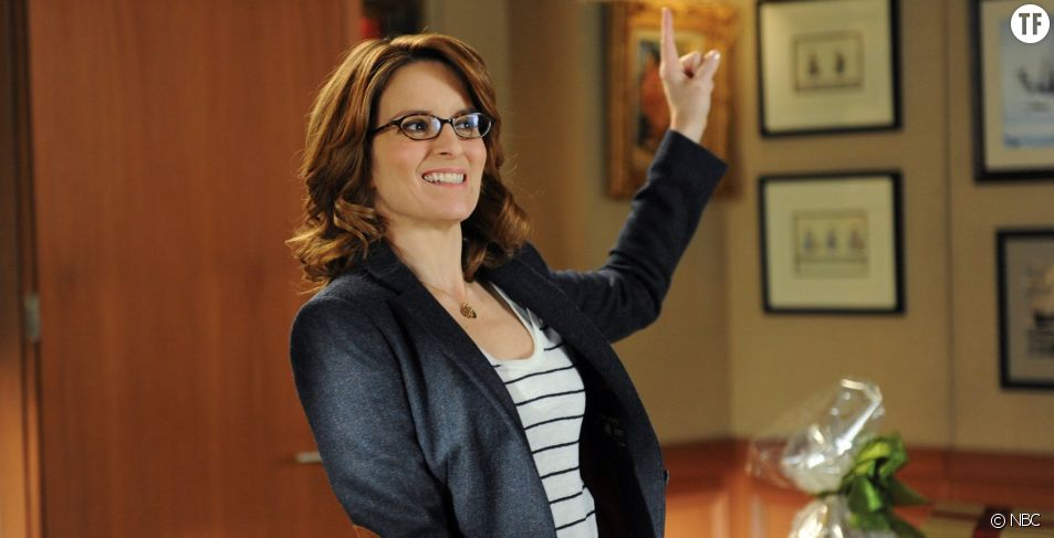 "Tina Fey, working girl de l'humour dans ""30 rock"""