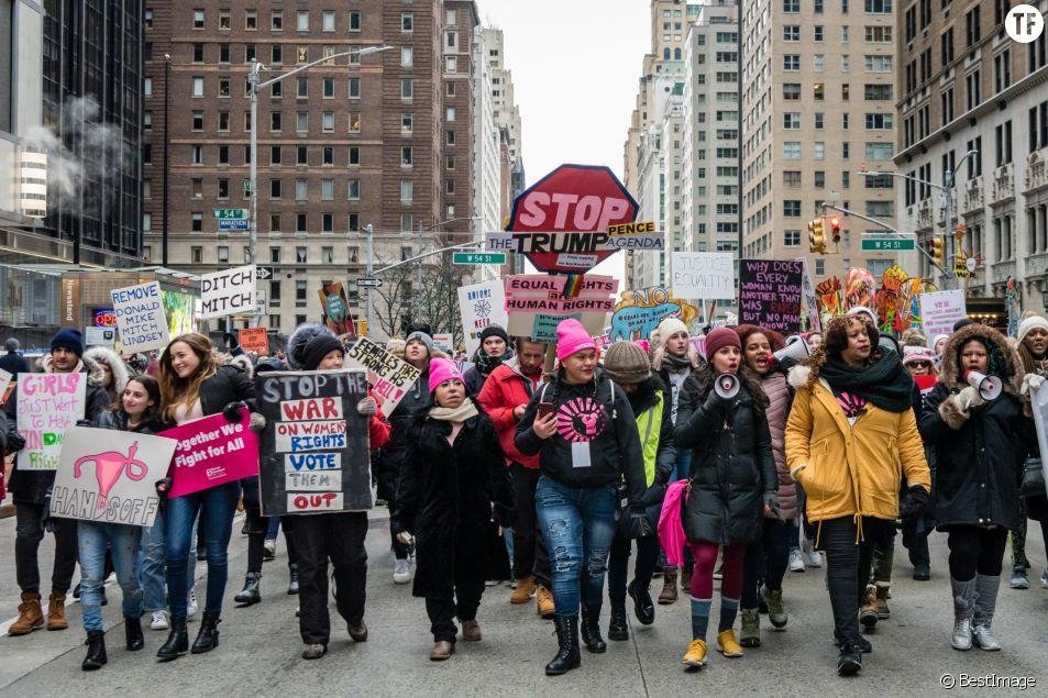 """4e édition de la """"Marche des femmes"""" à Washington le 18 janvier 2020"""