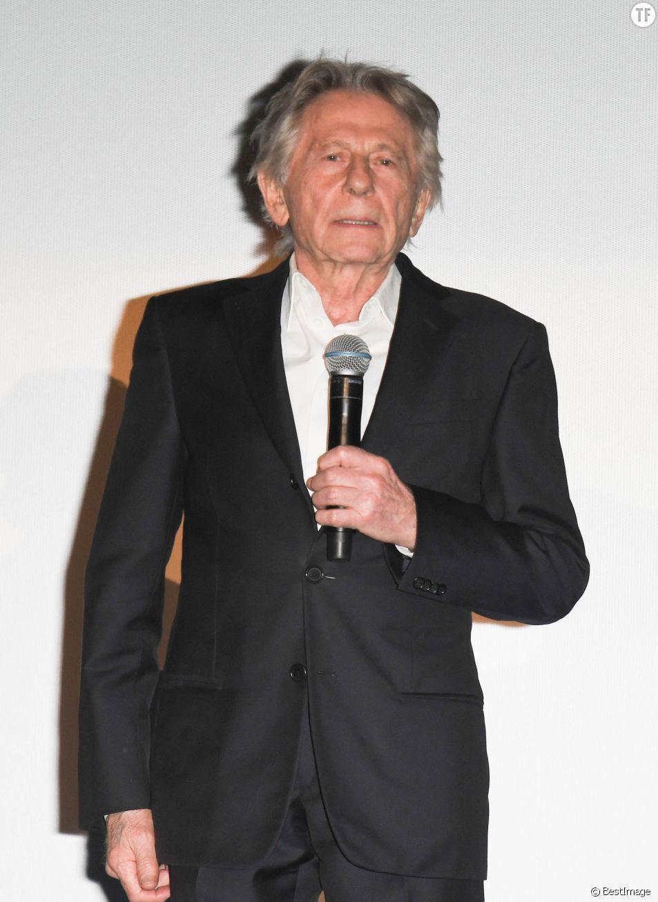 """Roman Polanski à l'avant-première du film """"J'accuse"""" à Paris le 12 novembre 2019."""