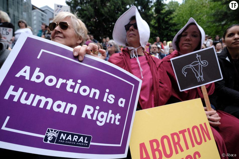 Manifestation anti-avortement aux Etats-Unis en 2019