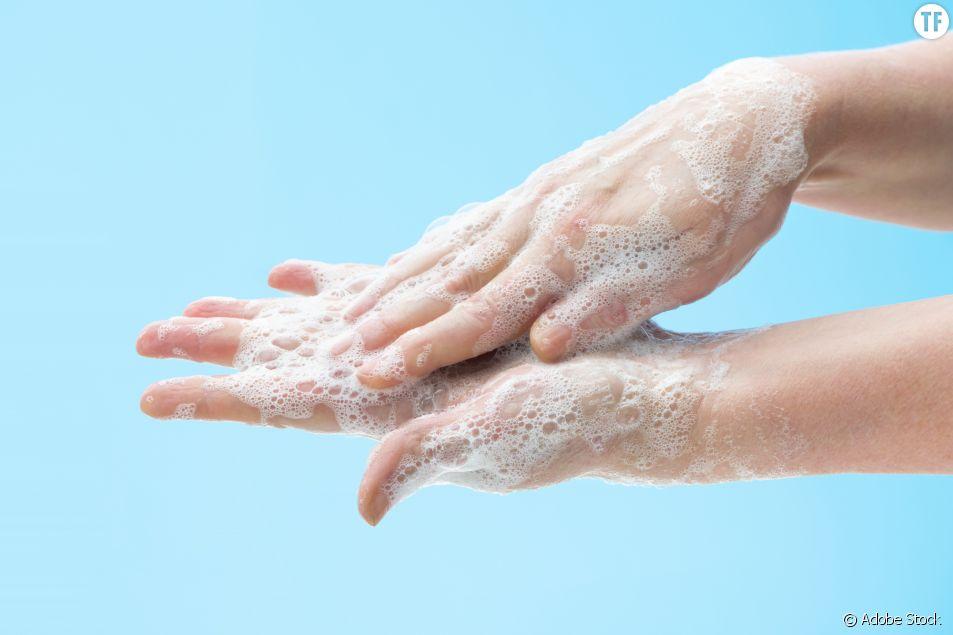 Bien se laver les mains, un truc de femme ?